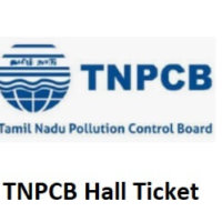 TNPCB Hall Ticket 2020 will be released-Download @ www.tnpcb.gov.in