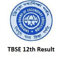 Tripura TBSE 12th Result 2019