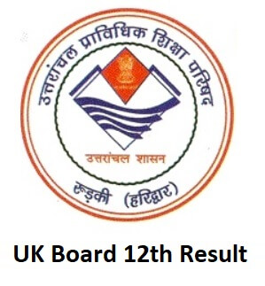 UK Board 12th Result 2019