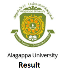 Alagappa University Result 2019
