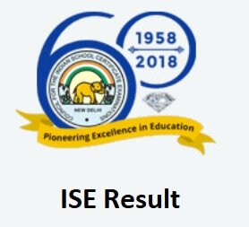 ISE Result for 12th Class