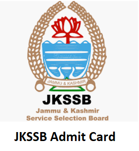 JKSSB Admit Card 2019