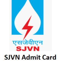 SJVN Admit Card – To Be Out Soon. Check Details here.