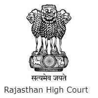 HCRAJ Rajasthan High Court Recruitment 2019