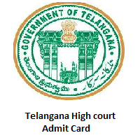 Telangana High Court Admit Card
