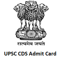 UPSC CDS Admit Card
