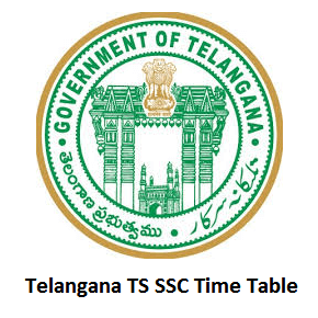 Telangana TS SSC Time Table